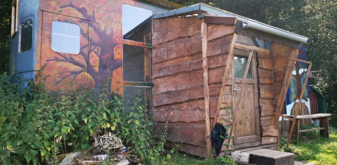 Künstlerhaus auf dem Gelände