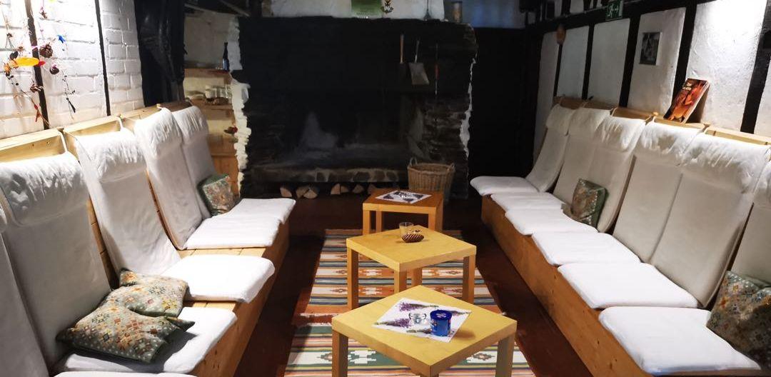 Sitzbereich im Haupthaus